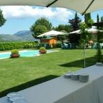 Tenuta Colfiorito - Foto esterno piscina