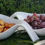 Pesche e uva
