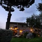 Casale Campovecchio - vista notturna