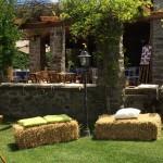 Casale Campovecchio - allestimento esterno