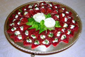Bresaola presentazione piatti
