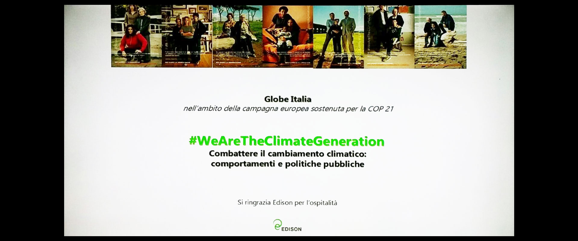 We are the climate