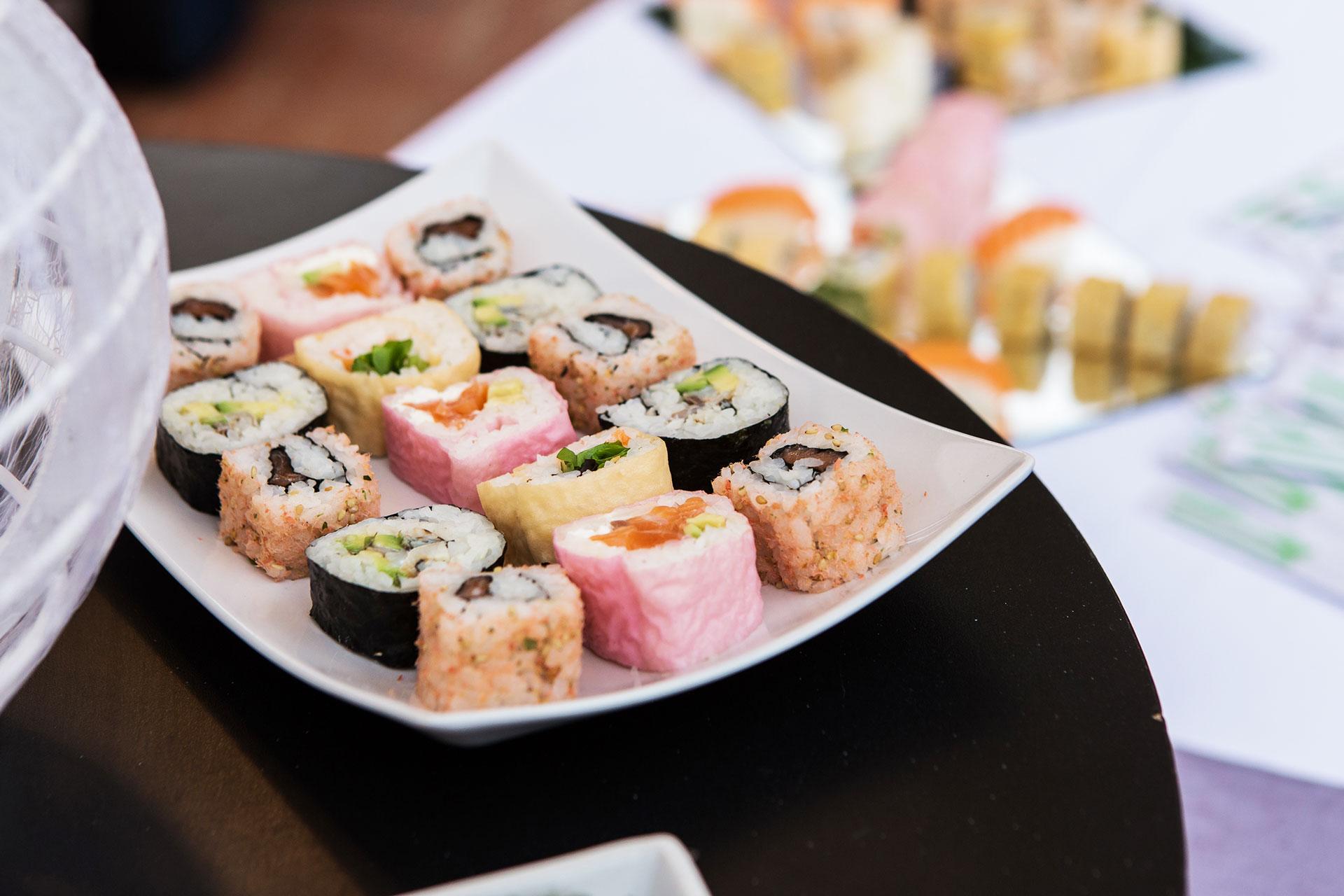 Sushi in primo piano