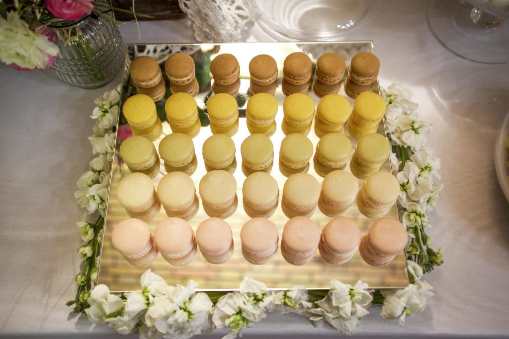 macarons colorati