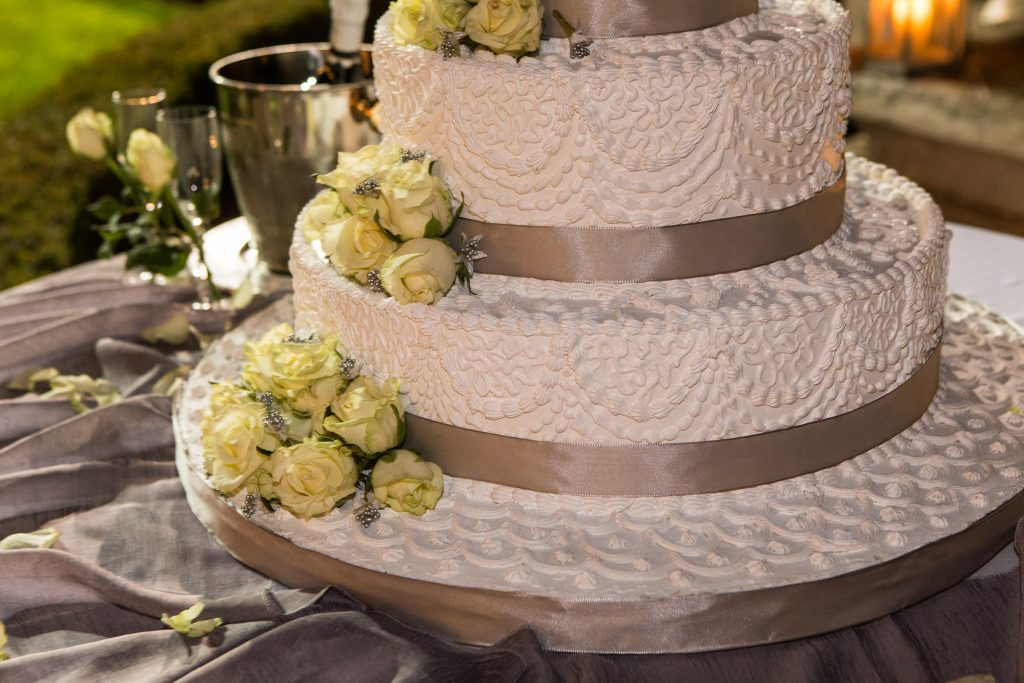 torta nuziale - matrimoni vip 2017
