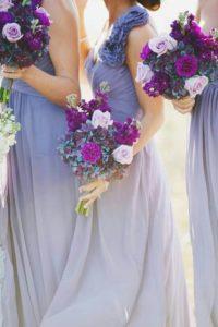 Bouquet Ultra Violet anche per le damigelle
