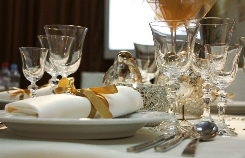 baroque wedding tavola oro
