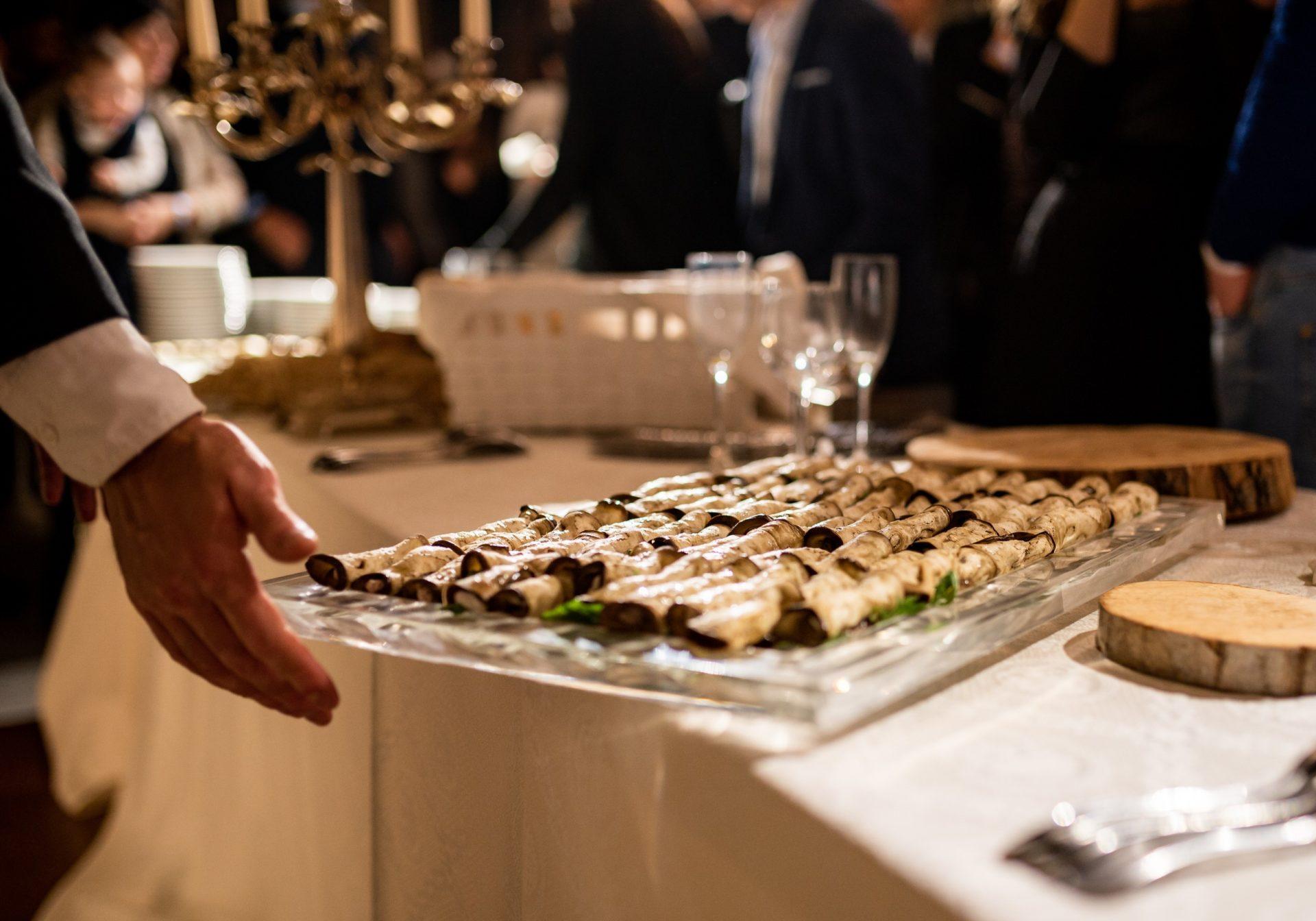 catering a domicilio buffet dolci
