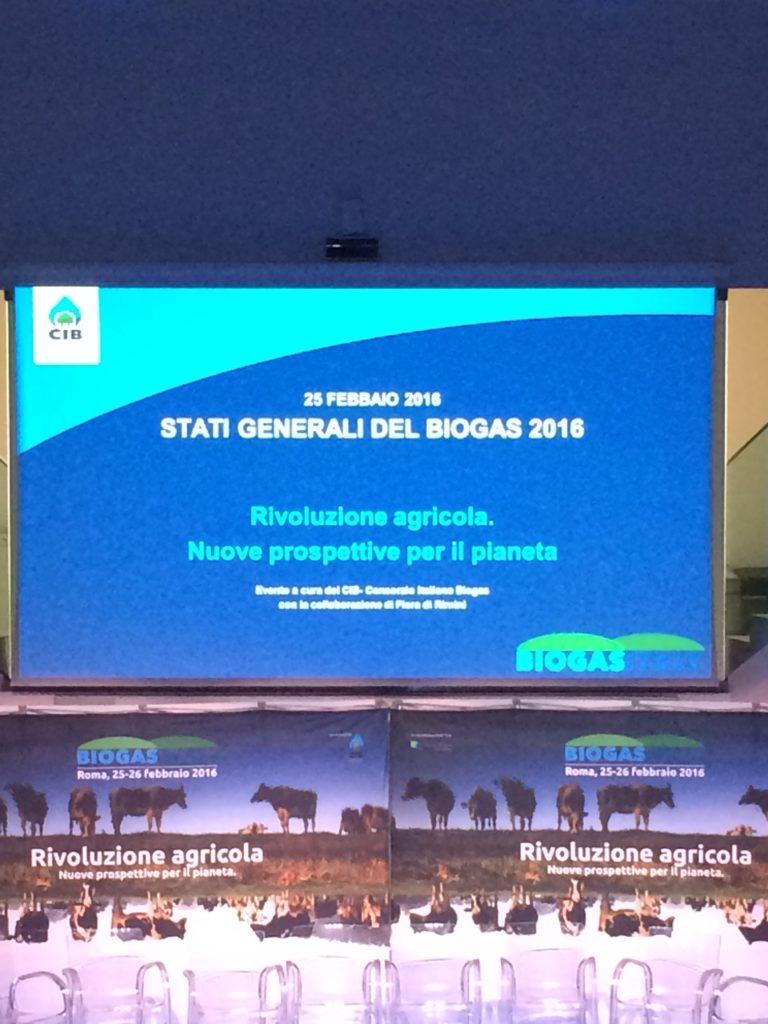 Convegno 2016 Biogas Italy