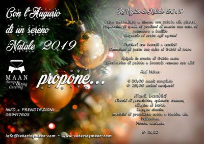 cena catering vigilia natale 2019